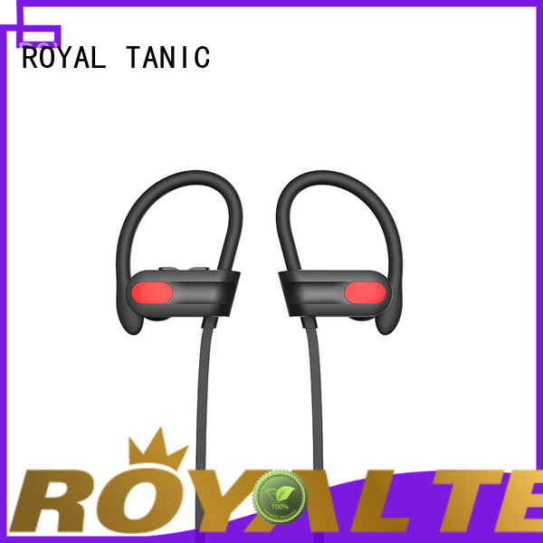 ROYAL TANIC practical sports bluetooth headphones directly sale for exercise