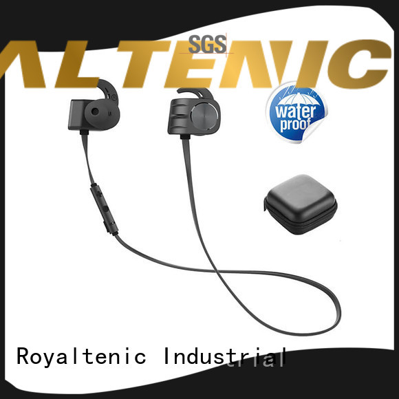 ROYAL TANIC lg magnet bluetooth headset factory price for gym