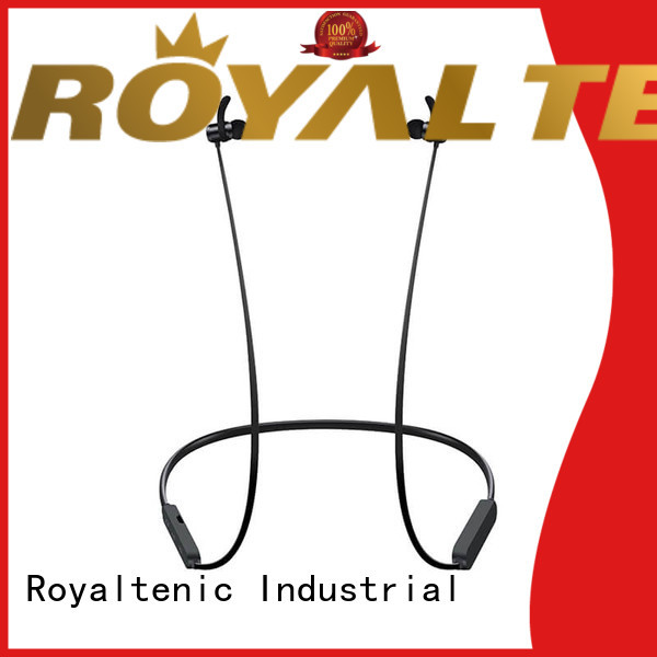 ROYAL TANIC mic magnetic bluetooth earphones from China for outdoor sports