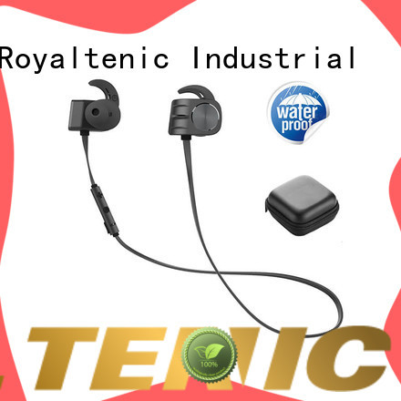 ROYAL TANIC popular magnetic bluetooth earphones manufacturer for outdoor sports