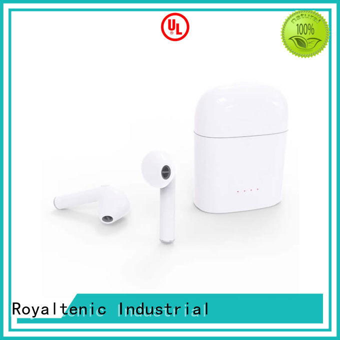 ROYAL TANIC Brand selling charging stereo mobile tws earphones