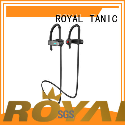 ROYAL TANIC durable waterproof bluetooth headphones customized for running
