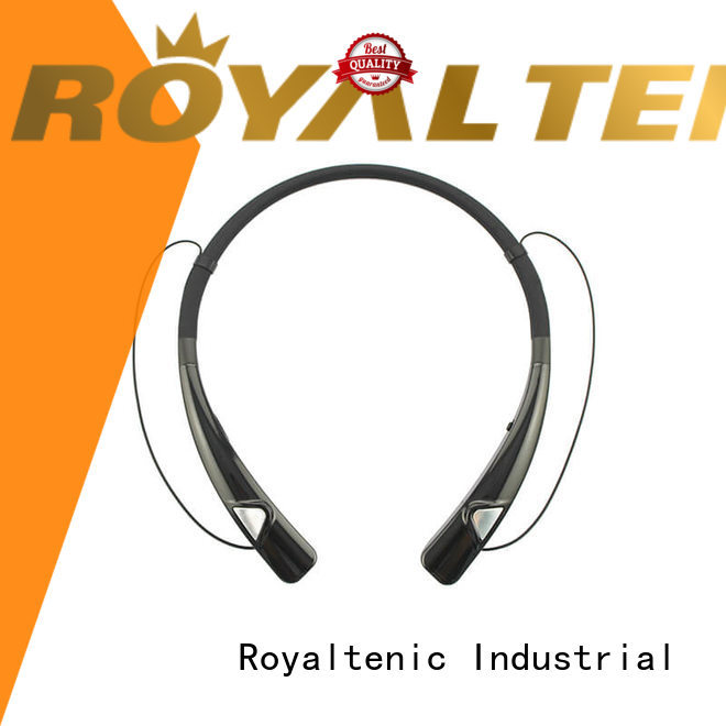 ROYAL TANIC magnetic wireless earphones factory price for gym