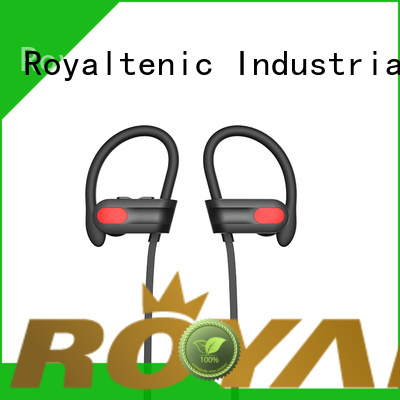 ROYAL TANIC mic sports bluetooth headphones series for exercise
