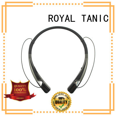 mini wireless handsfree magnetic bluetooth earphones neckband ROYAL TANIC
