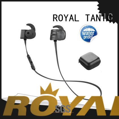 ROYAL TANIC comfortable magnetic bluetooth earphones from China for gym