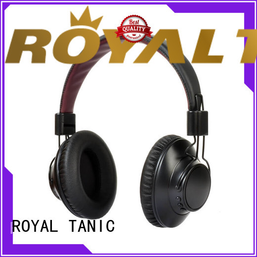 ROYAL TANIC professional anc bluetooth headphones promotion for office