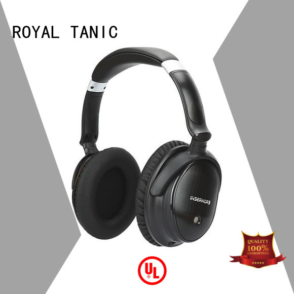 cancellation Custom headset hifi anc bluetooth headphones ROYAL TANIC foldable