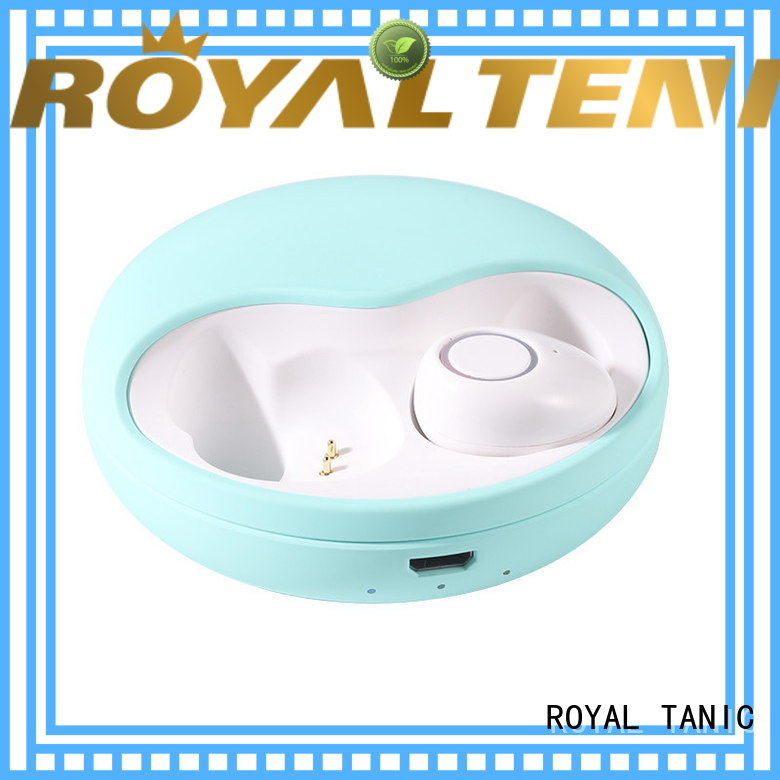 ROYAL TANIC tws earphones factory price for phone