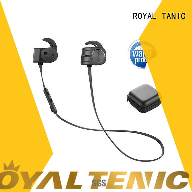 ROYAL TANIC stable magnetic wireless earphones from China for daily life