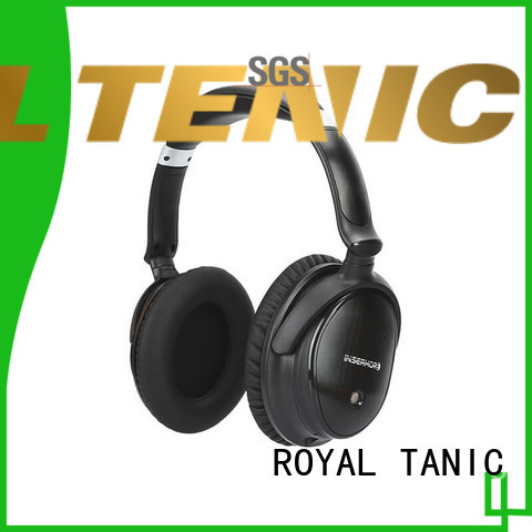 ROYAL TANIC wireless beats noise cancelling headphones supplier for trains