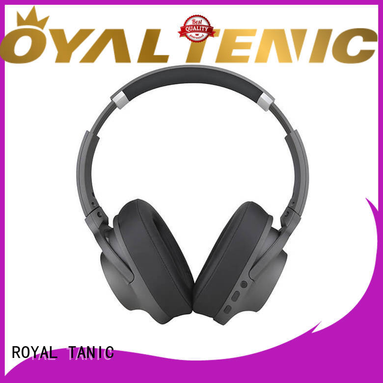 durable anc bluetooth headphones with mic for office