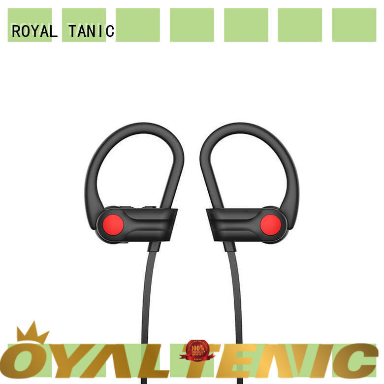 ROYAL TANIC durable sports headphones customized for exercise