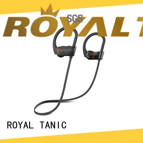 hd best sport headphones customized for running ROYAL TANIC