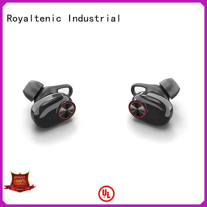 ROYAL TANIC Brand bluetooth box mini tws twins true wireless bluetooth stereo headset