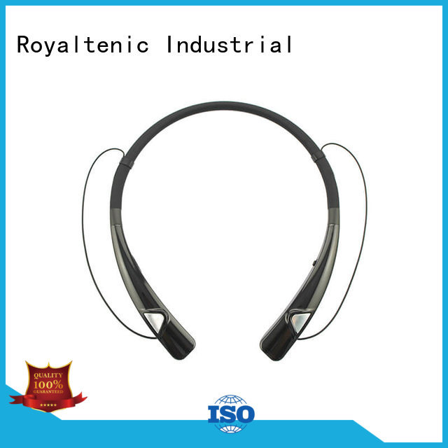 Wholesale headphones directly magnetic bluetooth earphones ROYAL TANIC Brand
