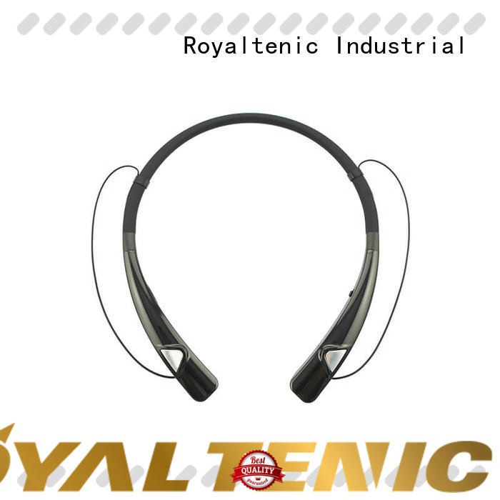 ROYAL TANIC magnetic bluetooth earphones design for daily life