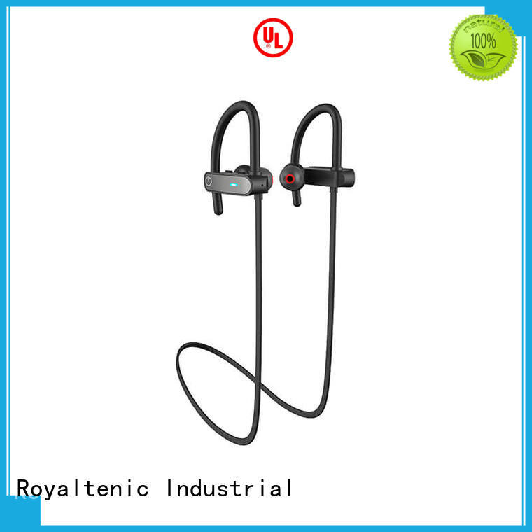 by hour OEM sports bluetooth headphones ROYAL TANIC