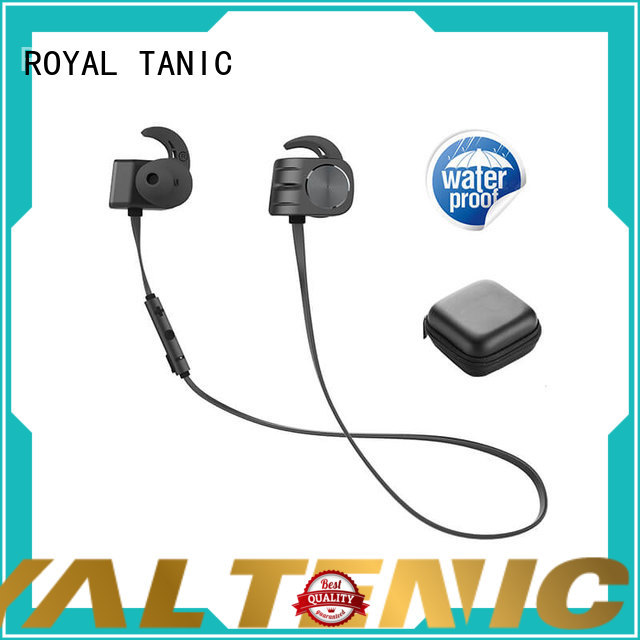 ROYAL TANIC stable magnetic bluetooth earphones factory price for outdoor sports