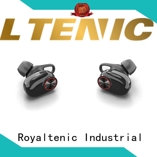 ROYAL TANIC sweatproof tws headphones personalized for office