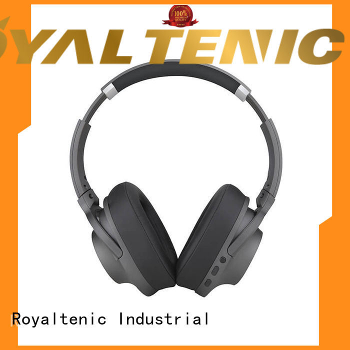 ROYAL TANIC wireless noise cancelling headset promotion for office