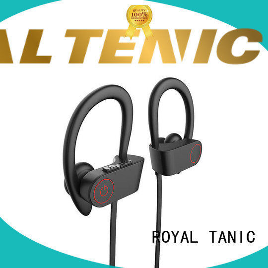 ROYAL TANIC waterproof bluetooth headphones manufacturer for gym