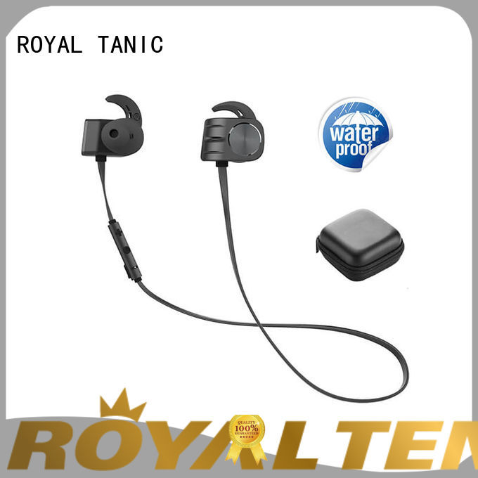 ROYAL TANIC magnetic bluetooth earphones design for gym