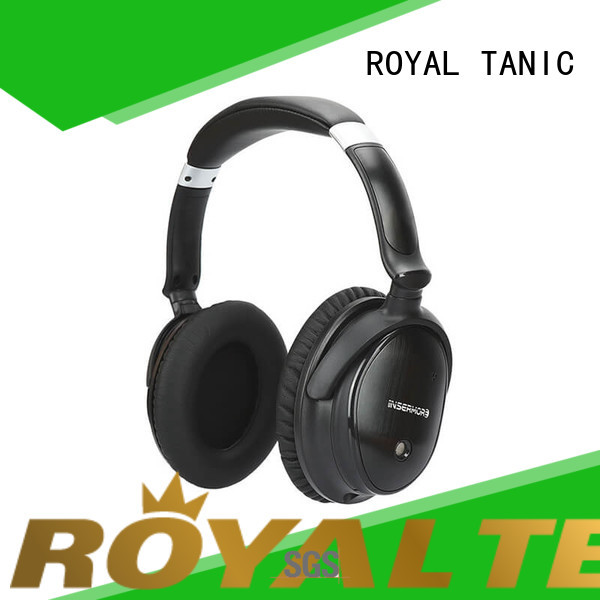 ROYAL TANIC best anc bluetooth headphones on sale for home