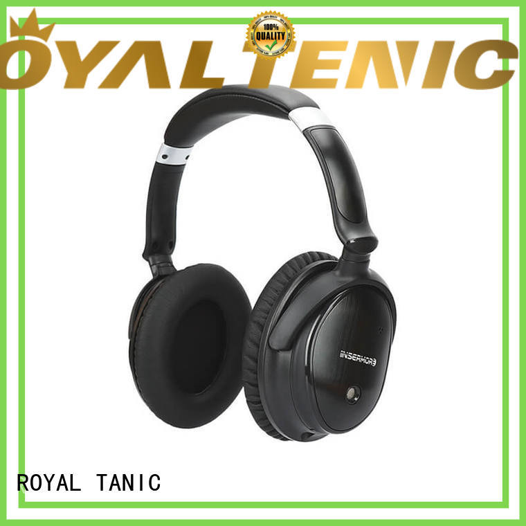 ROYAL TANIC wireless noise cancelling headset supplier for airplanes