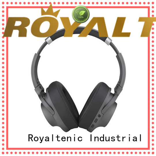 ROYAL TANIC best anc bluetooth headphones with mic for trains