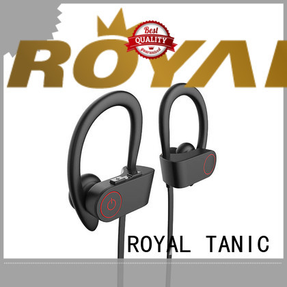 ROYAL TANIC sports bluetooth headphones manufacturer for exercise