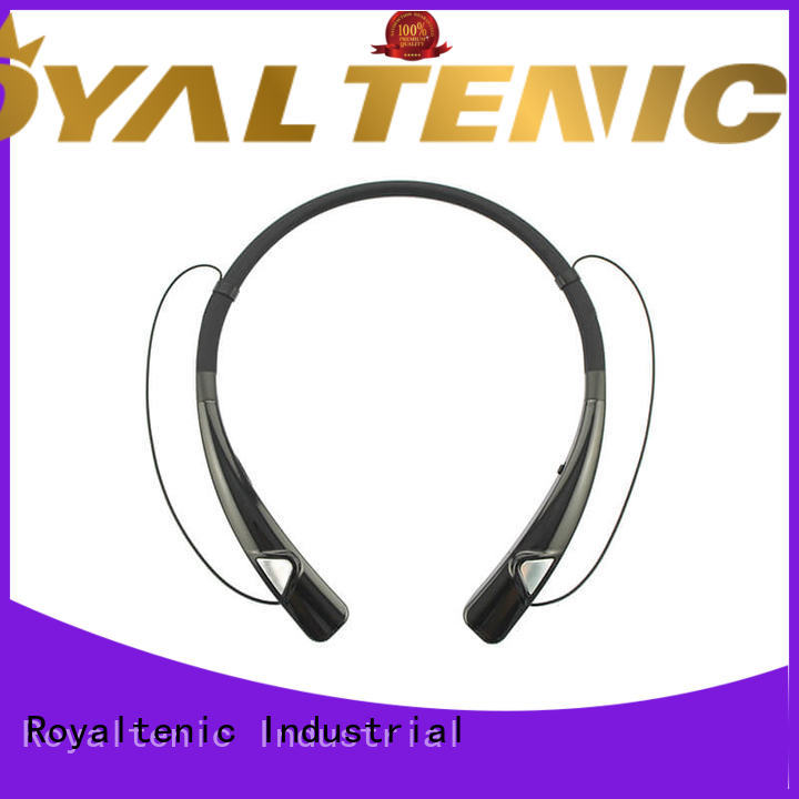 ROYAL TANIC headphones magnetic bluetooth earphones easy to carry for outdoor sports