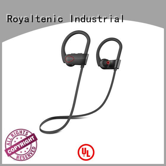 ear earphones buy ROYAL TANIC Brand sports bluetooth headphones supplier