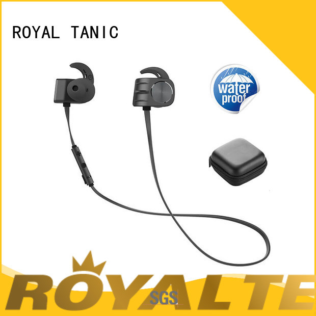 ROYAL TANIC ce magnet bluetooth headset design for gym