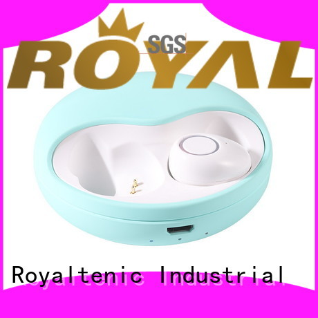 ROYAL TANIC sweatproof tws wireless earbuds factory price for phone