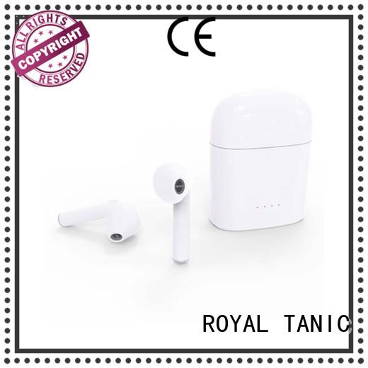mini tws twins true wireless bluetooth stereo headset touch headphone Warranty ROYAL TANIC