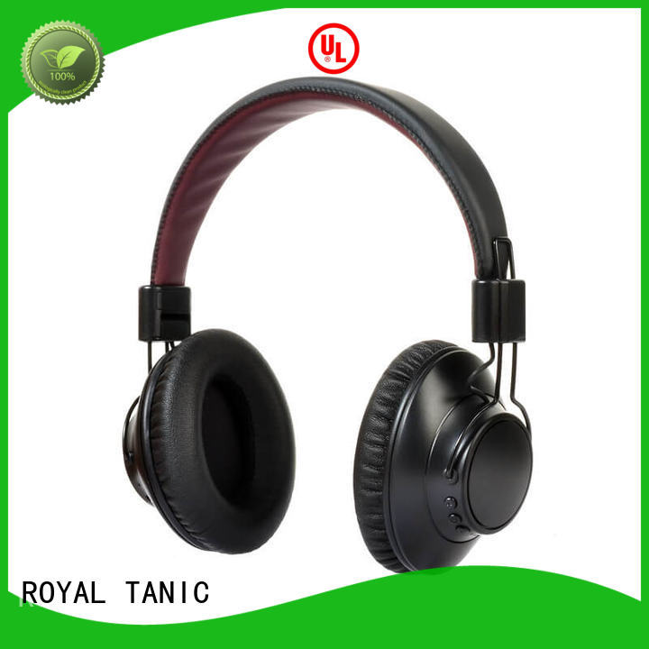 noise cancelling headphones with microphone stereo cancelling ROYAL TANIC Brand anc bluetooth headphones