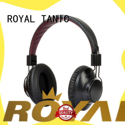 ROYAL TANIC foldable anc bluetooth headphones promotion for airplanes