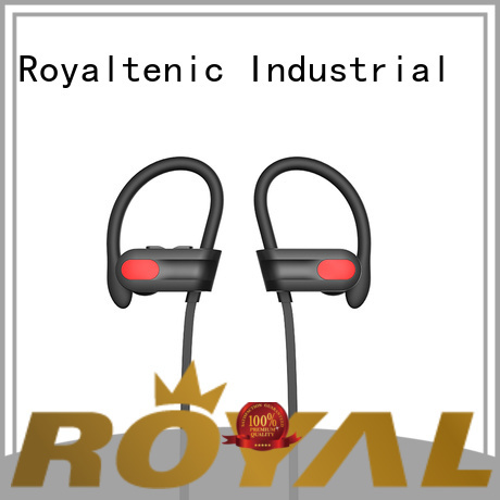 ROYAL TANIC durable gym headphones directly sale for exercise