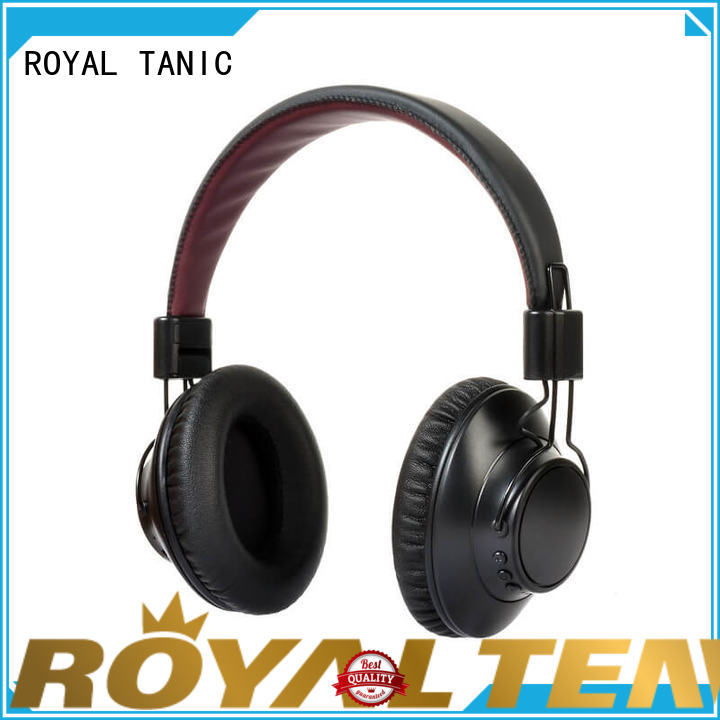 ROYAL TANIC promotional noise cancelling headset with mic for office