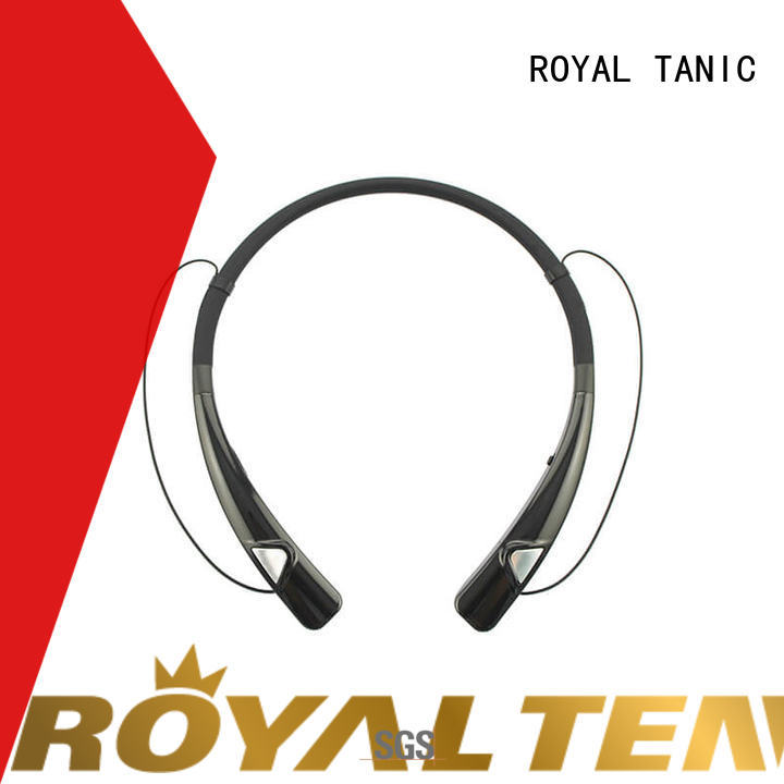 ROYAL TANIC magnetic bluetooth earphones easy to carry for gym