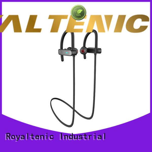 ROYAL TANIC cancelling waterproof bluetooth headphones manufacturer for hiking