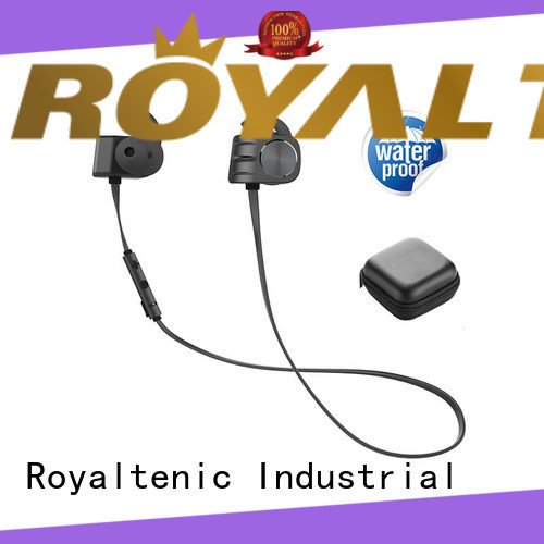 ROYAL TANIC technical magnetic bluetooth earphones manufacturer for hiking