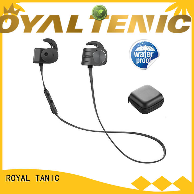 ROYAL TANIC comfortable magnet bluetooth headset easy to carry for running