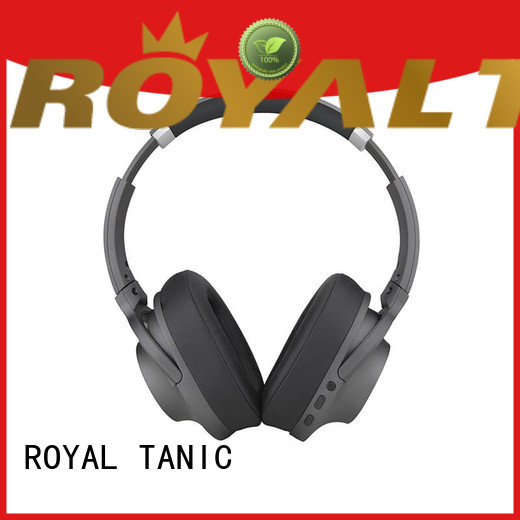 ROYAL TANIC wireless noise isolating headphones promotion for trains