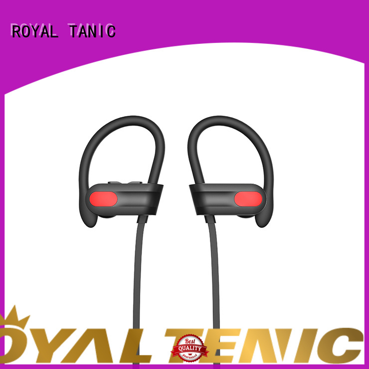 ROYAL TANIC rated gym headphones series for gym