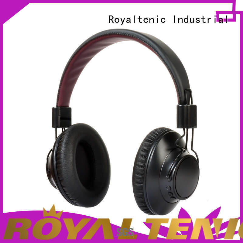 ROYAL TANIC durable anc bluetooth headphones on sale for trains