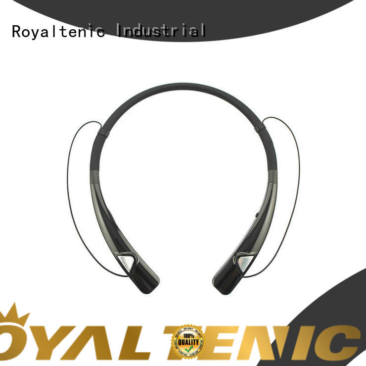 ROYAL TANIC high quality magnetic earphones design for gym