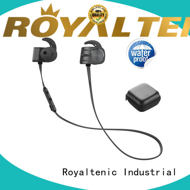 high quality magnetic bluetooth earphones easy to carry for hiking