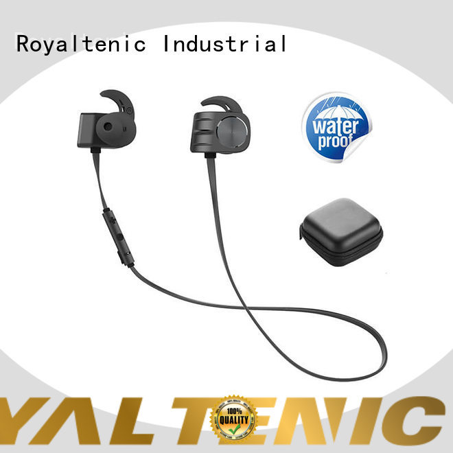 ROYAL TANIC comfortable magnet bluetooth headset manufacturer for hiking